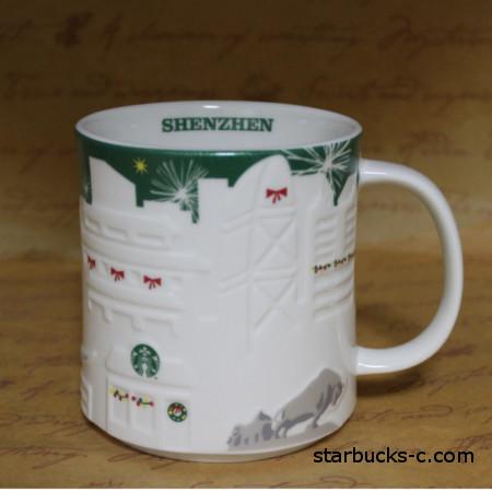 Shenzhen Relief mug(深圳レリーフマグ)