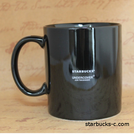 undercover starbucks collaboration mug set