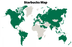 Starbucks Category Map(カテゴリーマップ)