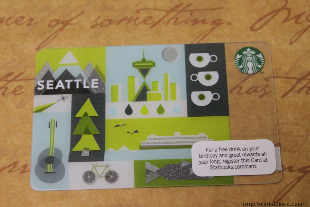 【アメリカ】2011年製造スターバックスカード