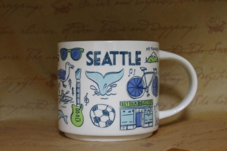 BEEN THERE SERIES SEATLE(シアトル)mug