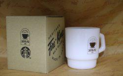 Starbucks Fire-King スタアバックス珈琲mug
