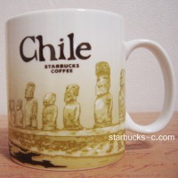 Chile(チリ) mug#1 【モアイ像】