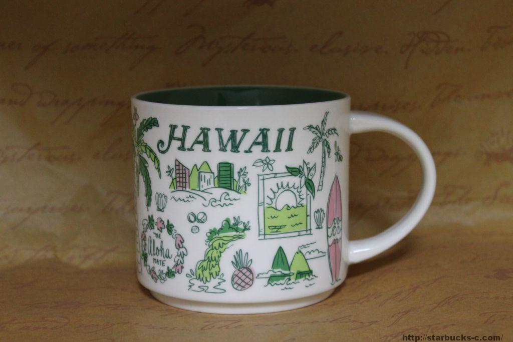 BEEN THERE SERIES HAWAII(ハワイ)mug